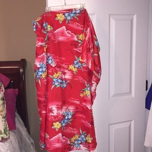 Swimsuit cover up size large